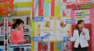 NHKあさイチテレビ出演